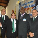 New leaders of the Yaracuy Mission in West Venezuela pose with IAD President Pastor Israel Leito after the special ceremony Aug. 16-17, 2015. Images courtesy of West Venezuela Union.