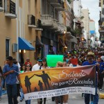 More than 650 Seventh-day Adventists marched through the streets of San Juan,  Puerto Rico, Images courtesy of David Sebastian/IAD