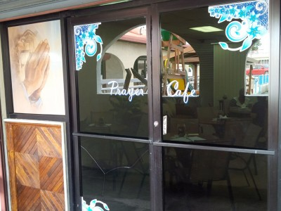 New Prayer Cafe opened at the Foster's Plaza strip mall in the U.S. Virgin Island of St. Thomas, on Jan. 18, 2016. Images by Royston Philbert/IAD