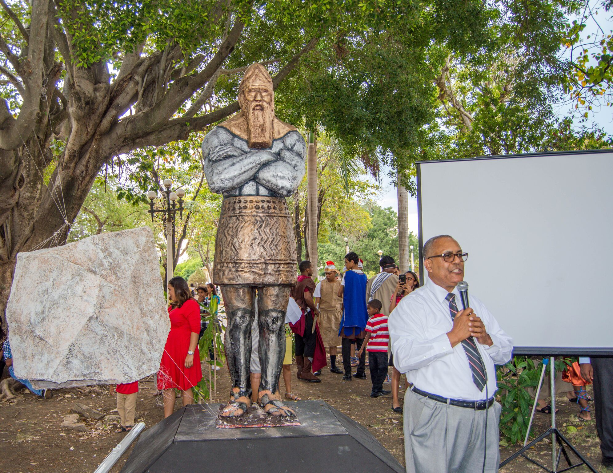 Adventist Church Unveils Nebuchadnezzar Statue To ...