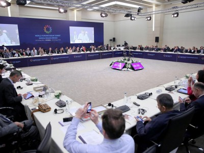A special session of the World Humanitarian Summit. Image courtesy of the World Humanitarian Summit / United Nations