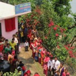 People attending the dedication of a new Adventist church in Kaping, Nepal, in April 2016. Image by Umesh Pokharel