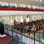Pastor Everett Brown, president of the church in Jamaica addresses the congregants at the Mandeville Adventist Church on Independence Day, Saturday, August 6, 2016. Images by Nigel Coke