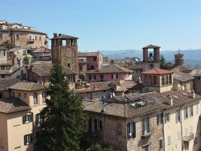 A view of the Italian city of Perugia before Wednesday's earthquake. (Pixabay)